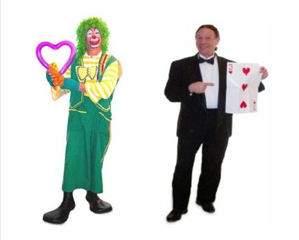 $150 for One Hour Brocolli The Magic Clown OR Jake the Magician Show ($250 value - 40% off)
