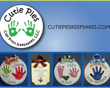 $25 for Personalized Child's Hand and Foot Ceramic Keepsake (50% off - $50 value)