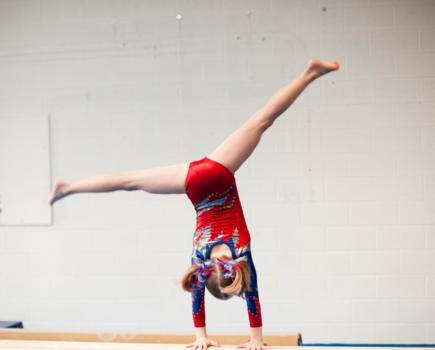 $169 or $219 for Spring MarVaTots 'n Teens 12-Week Gymnastics Session for Boys & Girls - All Ages (up to 30% off)