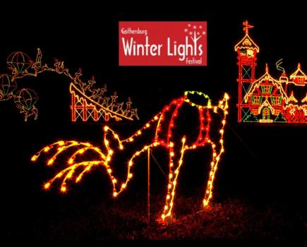 $10 Admission for One Car to The City of Gaithersburg Winter Lights Festival and 3 Pair of Prism Glasses December 1-6 (52% Off)
