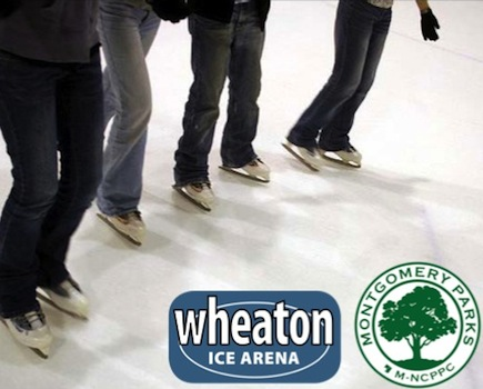 $10 for Ice Skating & Skate Rental for TWO PEOPLE at Wheaton Ice Arena - Winter Weekdays!