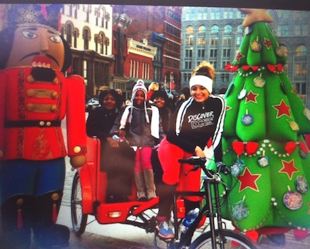 $45 for 40-Minute Festival of Lights DC Christmas Tree Pedicab Tour for up to Four People (54% off)