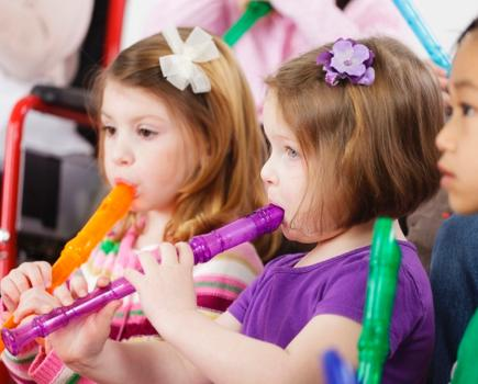 $200 for 12 Weeks of Early Childhood Music Classes from The International School of Music in Bethesda (45% off)