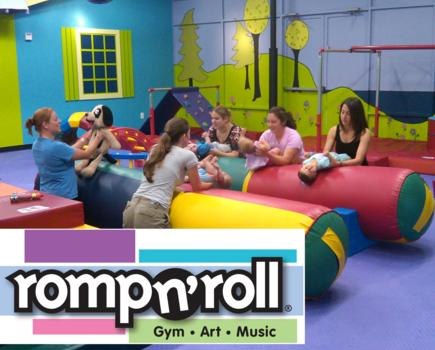 $35 for Mini Session Package at Romp n' Roll (3 classes, 3 open gyms and membership fee) (77% off - $130 value)