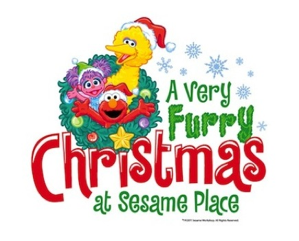 $17 for A Very Furry Christmas at Sesame Place ($5.00 off $21.99 value - 23% off)