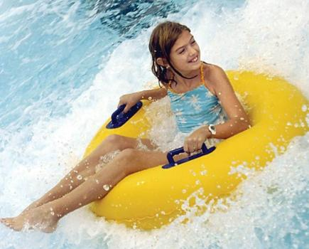 $25 for SplashDown Indoor Water Slides Admission for 4 People - Columbia (56% Off!)