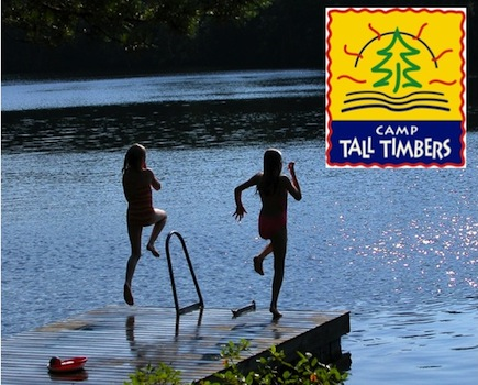 $63 for One Adult and Child at Family Weekend OR $75 for Child's Try-Out Weekend at Camp Tall Timbers (50% Off)