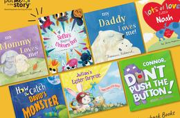 35% Off Personalized Books For Kids - Perfect for Mother's and Father's Day
