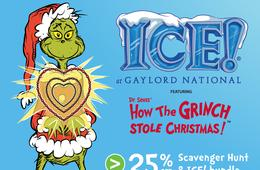 25% Off Scavenger Hunt & ICE! Bundle at Gaylord National Resort