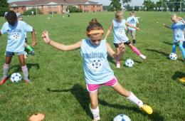 $180 for Montgomery Soccer Academy Camp - Boys Ages 6-14 and Girls Ages 6-17 in Olney ($270 Value - 34% Off)