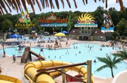 $14.50 for 4-Pack of Waterpark Tickets in Northern Virginia - Atlantis, Pirate's Cove, Ocean Dunes or Volcano Island - Weekday Afternoon Special! (31% Off)