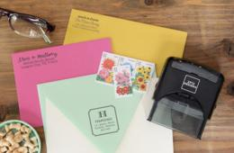 $19-$24 for Personalized Self-Inking Stamp + Free Shipping - Rectangle or Square (Up to 65% off)