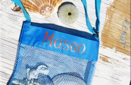 $9 for Personalized Seashell Collecting Beach Bag - Includes Free Shipping! (64% Off)