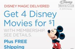 Get 4 Disney Movies for $1. With membership. See details. Choose from Hundreds of Movies for All Ages!