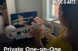$50 Off First Month of In-Store or Online Music Lessons at Music & Arts!