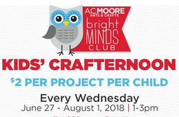 Kids' Crafternoons at A.C. Moore for $2!