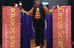 Circus Science Virtual Performance with Up to 100 Friends from Circus Greg