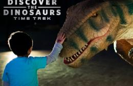 Friday, March 30th 2 p.m. - 8 p.m. CHILD Admission for Discover the Dinosaurs: Time Trek at Maryland State Fairgrounds