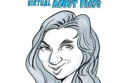 Virtual Caricature Party or Playdate from About Faces Entertainment