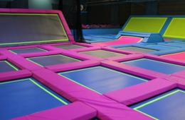 BRAND NEW Airbound Trampoline Center Open Jump Pass + Socks