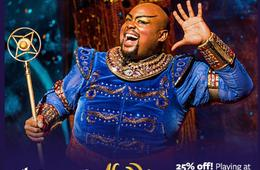 Special CertifiKid Offer: Save 25%! Aladdin at The Kennedy Center