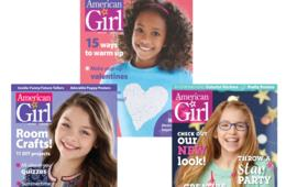 $16.99 for 1-Year American Girl Magazine Subscription (52% Off)