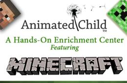 $245 for Minecraft Birthday Party for Up to 15 Kids at Animated Child in Montclair ($350 Value - 31% Off)