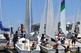2-Hour TrySail Group Sailing Lesson at Annapolis Sailing School for ONE Person