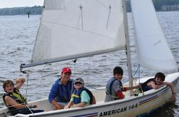 Private Family Sailing Lesson at KidShip Sailing School