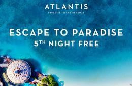 Atlantis Resort Getaway - 5th Night FREE!