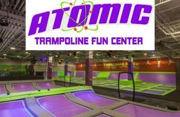 Atomic Trampoline Fun Center Admission