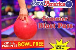 Kids and Parents Bowl FREE This Summer at Bowl America!