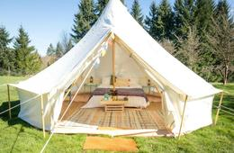 Glamping Tent from Life inTents - Perfect for Staycation or Vacation!