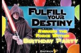 $155 for AWAKEN THE FORCE WITHIN BIRTHDAY PARTY at Dietrich's Dojo in Burke (48% Off)