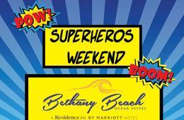 Bethany Beach Ocean Suites SUPERHERO Themed Getaway