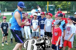 $150+ for Bethesda Big Train Baseball Camp for Ages 5-12 in Bethesda ($62 Off)