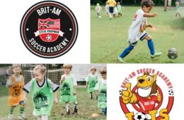 $150+ for Brit-Am Soccer Academy Camp for Ages 3-14 - Potomac, Bethesda & Boyds (Up to 25% Off)