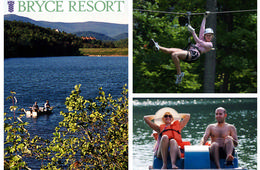 Bryce Resort Zipline Adventure + Lake Laura Admission