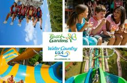 SAVE $20 on Single-Day Admission to Busch Gardens Williamsburg or Water Country USA using Promo Code: BGWOFFER