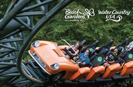 FLASH SALE! Busch Gardens Williamsburg + Water Country USA - Up to 42% Off!