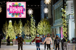 GRAND OPENING! Color Burst Ice Rink at Merriweather District