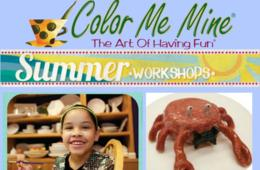 $280 for Color Me Mine Clay Camp for Ages 6-14 - Silver Spring ($70 Off)