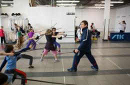 Capital Fencing Academy Beginner Fencing Course