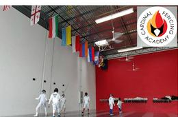 Beginner Youth Fencing Camp at Cardinal Fencing Academy