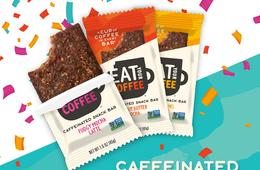 50% Off a 15-Pack of Eat Your Coffee Caffeinated Snack Bars - 1 Cup of Coffee in Every Bar!