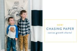 Personalize Your Space With Stylish, Removable Wallpaper & Wall Décor from Chasing Paper! Gift Certificate Option Too - Perfect to Print & Add a Bow For The Holidays!