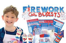 DIY Beach Pops or Firework Cake Blasts Summer Adventure Kits
