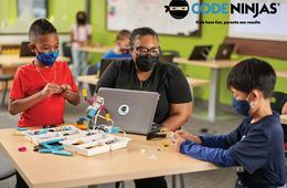 $50 Off Code Ninjas STEM Summer Camps - Roblox, Minecraft & More Mid-Atlantic