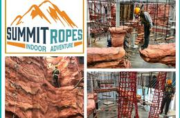 Summit Ropes Indoor Adventure Scout's Landing Course for Ages 4 - 9