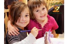 $10 for $20 Worth of Painting, Ceramics & Studio Fees at Color Me Mine - Silver Spring, Rockville, Sterling & Manassas (50% Off)